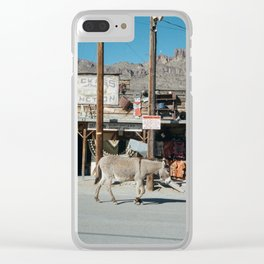 Jackass Junction Clear iPhone Case