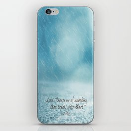 Cleanse me Psalm 139 iPhone Skin