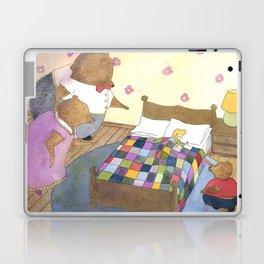 Goldilocks Caught Sleeping Laptop & iPad Skin