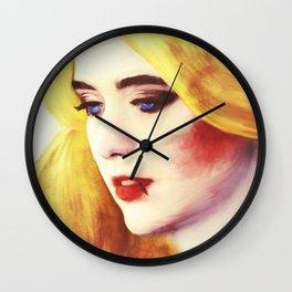 Blue Eyes Cryin' in the Rain Wall Clock