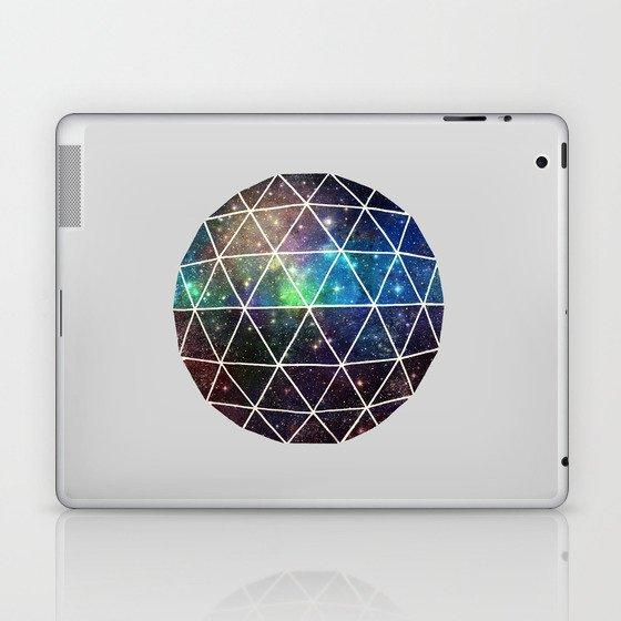 Space Geodesic Laptop & iPad Skin