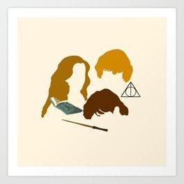 Wizard Trio Art Print