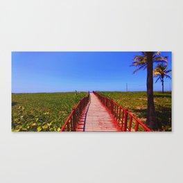 Santa Maria Del Mar Canvas Print