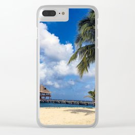 Pathway to Paradise Clear iPhone Case
