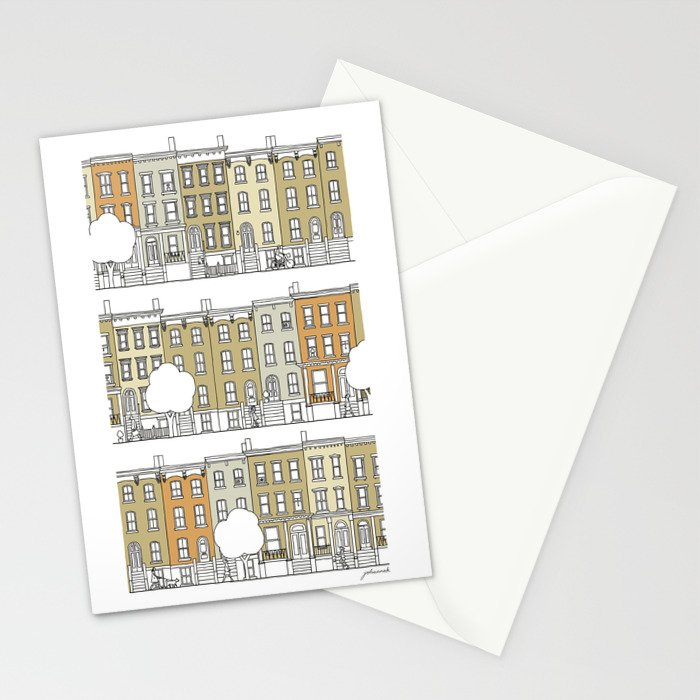 Brooklyn (color) Stationery Cards