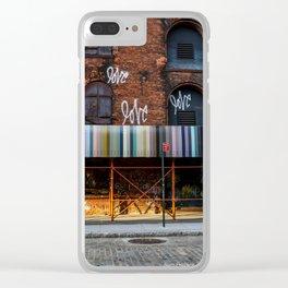 Love. Dumbo Brooklyn Clear iPhone Case