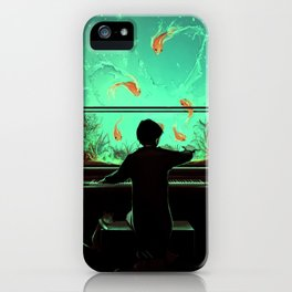 Le Pianoquarium iPhone Case