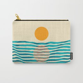 Ocean current Carry-All Pouch