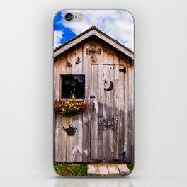 Garden Shed iPhone Skin