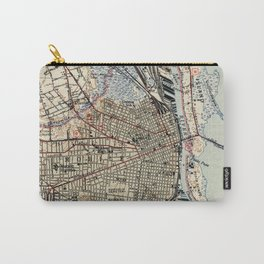Vintage Map of Mobile Alabama (1940) Carry-All Pouch