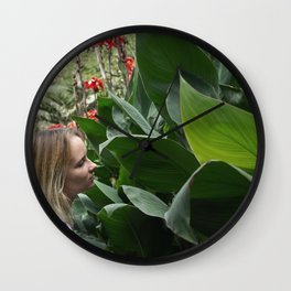 I'm not in the Mood Wall Clock