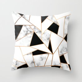 Marble III 003 Throw Pillow