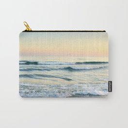 Serenity sea. Vintage. Square format Carry-All Pouch