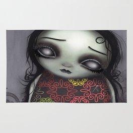 Zombie Girl Rug