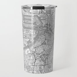 Antwerp Map Line Travel Mug