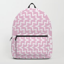 Sea Urchin - Light Pink & White #320 Backpack