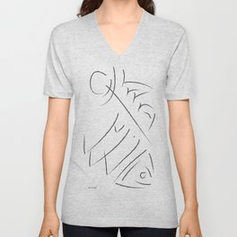 Out of Water Unisex V-Neck