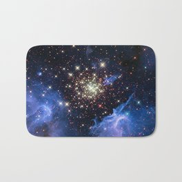 Star Cluster Bath Mat