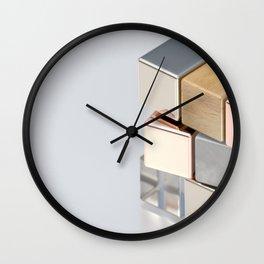 Rubiks Cubed Wall Clock