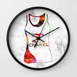 Fashion Shirt Wall Clock