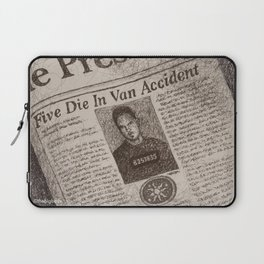 Never Kill A Boy on the First Date Laptop Sleeve