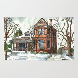 Victorian House in The Avenues Rug