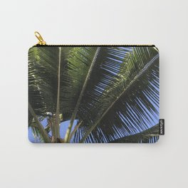 Hawaiian Palm Tree Leaves Embracing the Sky Carry-All Pouch