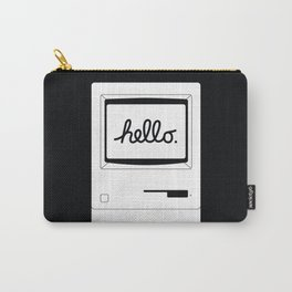 Hello World Back Carry-All Pouch