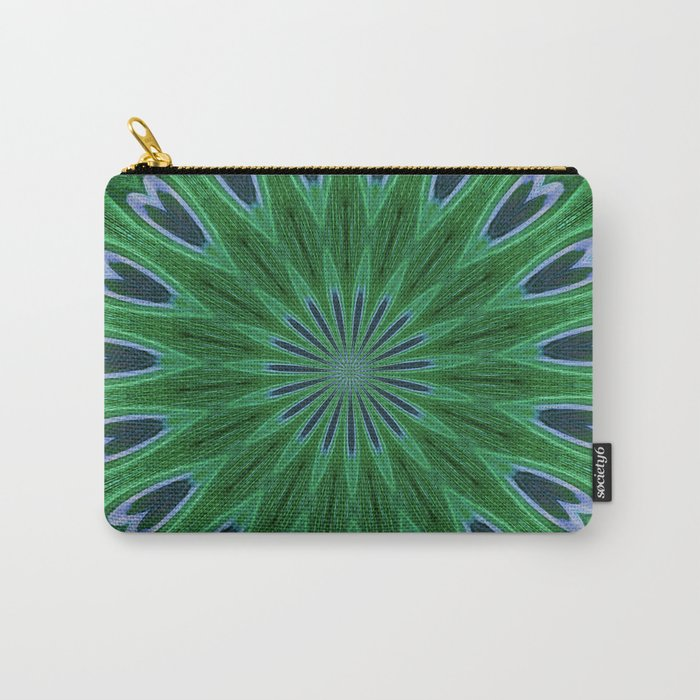 Feather Eyes Carry-All Pouch