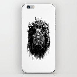Black Swordsman iPhone Skin
