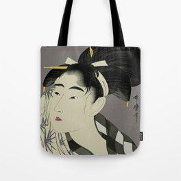 Utamaro #1 Tote Bag
