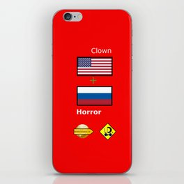 Clown Horror iPhone Skin