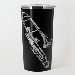 Piston Valve Trombone Travel Mug