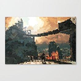 Brume Tower Canvas Print