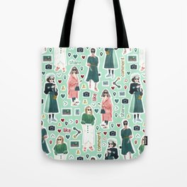 Social people Tote Bag
