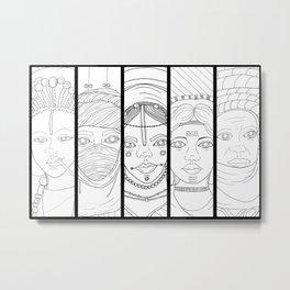 Pantheon Version 1 Metal Print