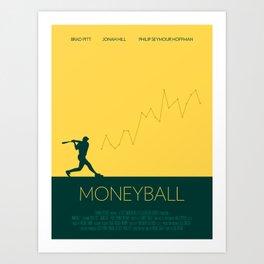 Moneyball Art Print
