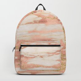 Sorano rose gold marble Backpack