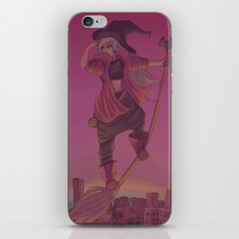 The Pirate Witch iPhone Skin