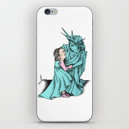 We Really Do care iPhone Skin