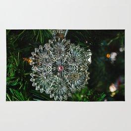Snowcrystal Ornament 2016- horizontal Rug