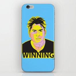Charlie Sheen Winning_Ink iPhone Skin