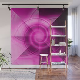 Pink & Purple Windmill Wall Mural