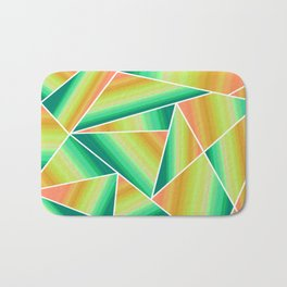 Sunset reflections Bath Mat