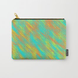 green blue orange and yellow painting texture abstract background Carry-All Pouch