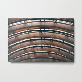 Beams Metal Print