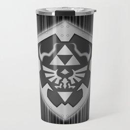 Zelda Shield Triforce Travel Mug