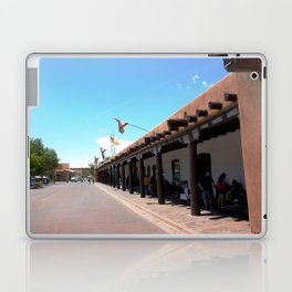 Santa Fe Old Town Square, No. 4 of 7 Laptop & iPad Skin