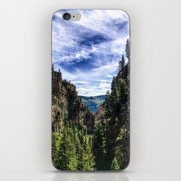 Hanging Lake Trail iPhone Skin