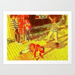 B-Boy Kids Art Print